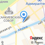 Архитон на карте Санкт-Петербурга