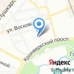 Служба реставрации ванн на карте Санкт-Петербурга