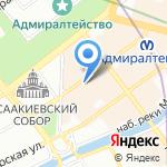 Атомный Лес на карте Санкт-Петербурга