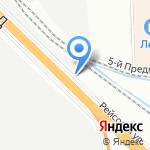 РусАкваСтрой на карте Санкт-Петербурга