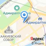 Управление Министерства культуры РФ по Северо-Западному федеральному округу на карте Санкт-Петербурга