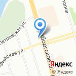NOTA BENE на карте Санкт-Петербурга