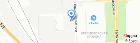 Витрум на карте Санкт-Петербурга