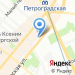 ЗАВР на карте Санкт-Петербурга