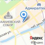 Управление Судебного департамента в г. Санкт-Петербурге на карте Санкт-Петербурга