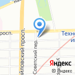 У Васильича на карте Санкт-Петербурга