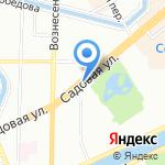 Roils club на карте Санкт-Петербурга