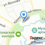 Шумгам на карте Санкт-Петербурга