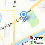 Клининг Сервис на карте Санкт-Петербурга