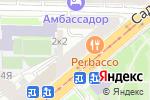 Схема проезда до компании Рекорд в Санкт-Петербурге