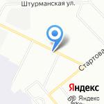 Europcar на карте Санкт-Петербурга