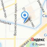Жилкомсервис №2 Адмиралтейского района на карте Санкт-Петербурга