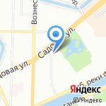 Средняя общеобразовательная школа №229 на карте Санкт-Петербурга