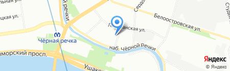 Bisoks на карте Санкт-Петербурга
