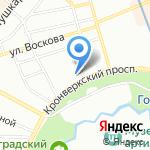 Санкт-Петербургский детско-юношеский компьютерный центр на карте Санкт-Петербурга