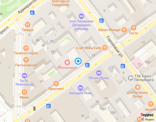 Товарищество собственников жилья «Дом Н.В. Гоголя» на карте Санкт-Петербурга