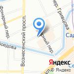 Внештранс-Недвижимость на карте Санкт-Петербурга
