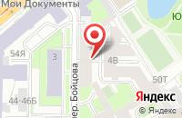 Схема проезда до компании Глория в Санкт-Петербурге