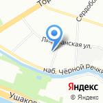 Аста-Текс на карте Санкт-Петербурга