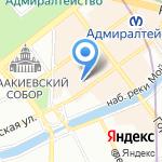 Центральная городская детская библиотека им. А.С. Пушкина на карте Санкт-Петербурга