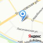 Экрадент на карте Санкт-Петербурга