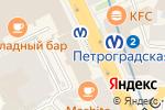 Схема проезда до компании Диалог в Санкт-Петербурге