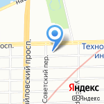 Атрибут на карте Санкт-Петербурга