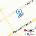 Детский сад №46 компенсирующего вида для детей с нарушением речи на карте Санкт-Петербурга
