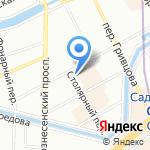 AWART на карте Санкт-Петербурга