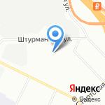 Барракуда на карте Санкт-Петербурга