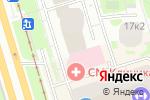 Схема проезда до компании Теликс в Санкт-Петербурге