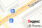 Схема проезда до компании Карекс в Санкт-Петербурге