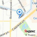 New Stars на карте Санкт-Петербурга