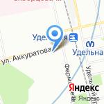 HolidayShow на карте Санкт-Петербурга