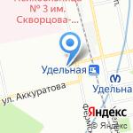 Воин-В на карте Санкт-Петербурга