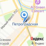 Арбитриум на карте Санкт-Петербурга