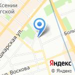 АКАДЕМИ`КА на карте Санкт-Петербурга