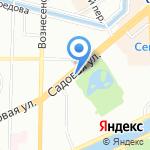 Центр психолого–педагогического сопровождения Адмиралтейского района Санкт–Петербурга на карте Санкт-Петербурга