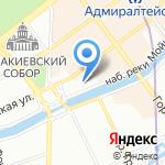 Управление гражданской защиты на карте Санкт-Петербурга