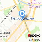 Vardex на карте Санкт-Петербурга
