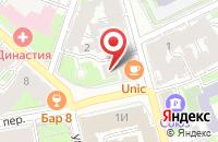 Схема проезда до компании Facetrip.ru в Лобне