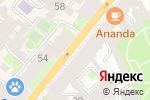 Схема проезда до компании Семь Морей в Санкт-Петербурге