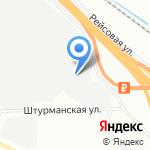 ЭНСИСИ-ПЕРСПЕКТИВА на карте Санкт-Петербурга