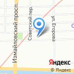 Просто ЧАЙ на карте Санкт-Петербурга