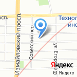 Поликлиника стоматологическая №16 на карте Санкт-Петербурга