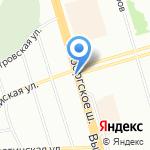 Прокси-Газ на карте Санкт-Петербурга