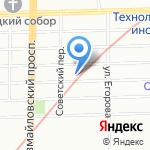 ВетЛюкс на карте Санкт-Петербурга