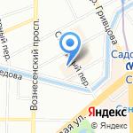 Карман на карте Санкт-Петербурга