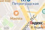 Схема проезда до компании Intimissimi в Санкт-Петербурге