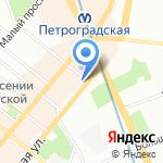 КРОМА на карте Санкт-Петербурга